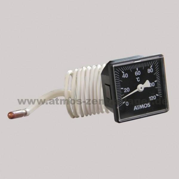 Thermometer im Kesselschaltfeld für DC75SE