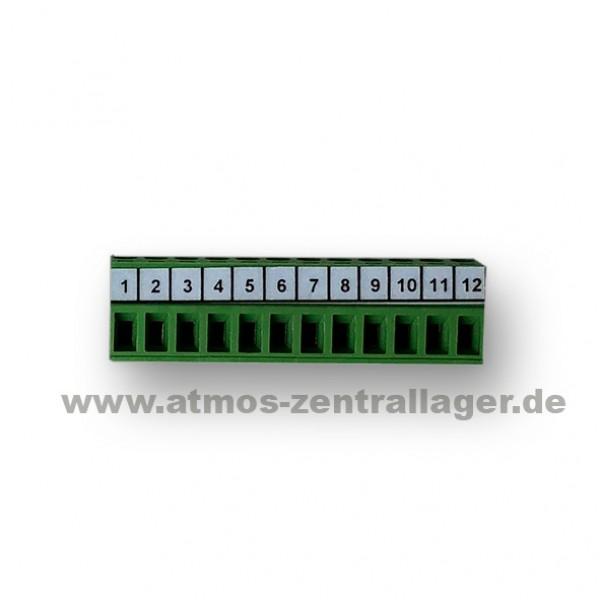 12 poliger Stecker für ATMOS Steuerplatine