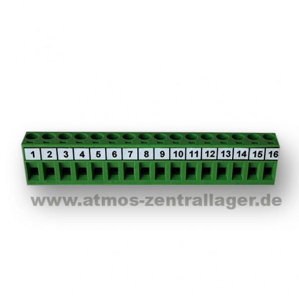 16 poliger Stecker für ATMOS Steuerplatine