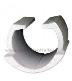 ATMOS Holzvergaser Kugelraum DC086 510mm linke + rechte Seite